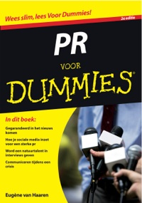 Omslag PR voor Dummies Eugene van Haaren www.voornieuws.nl