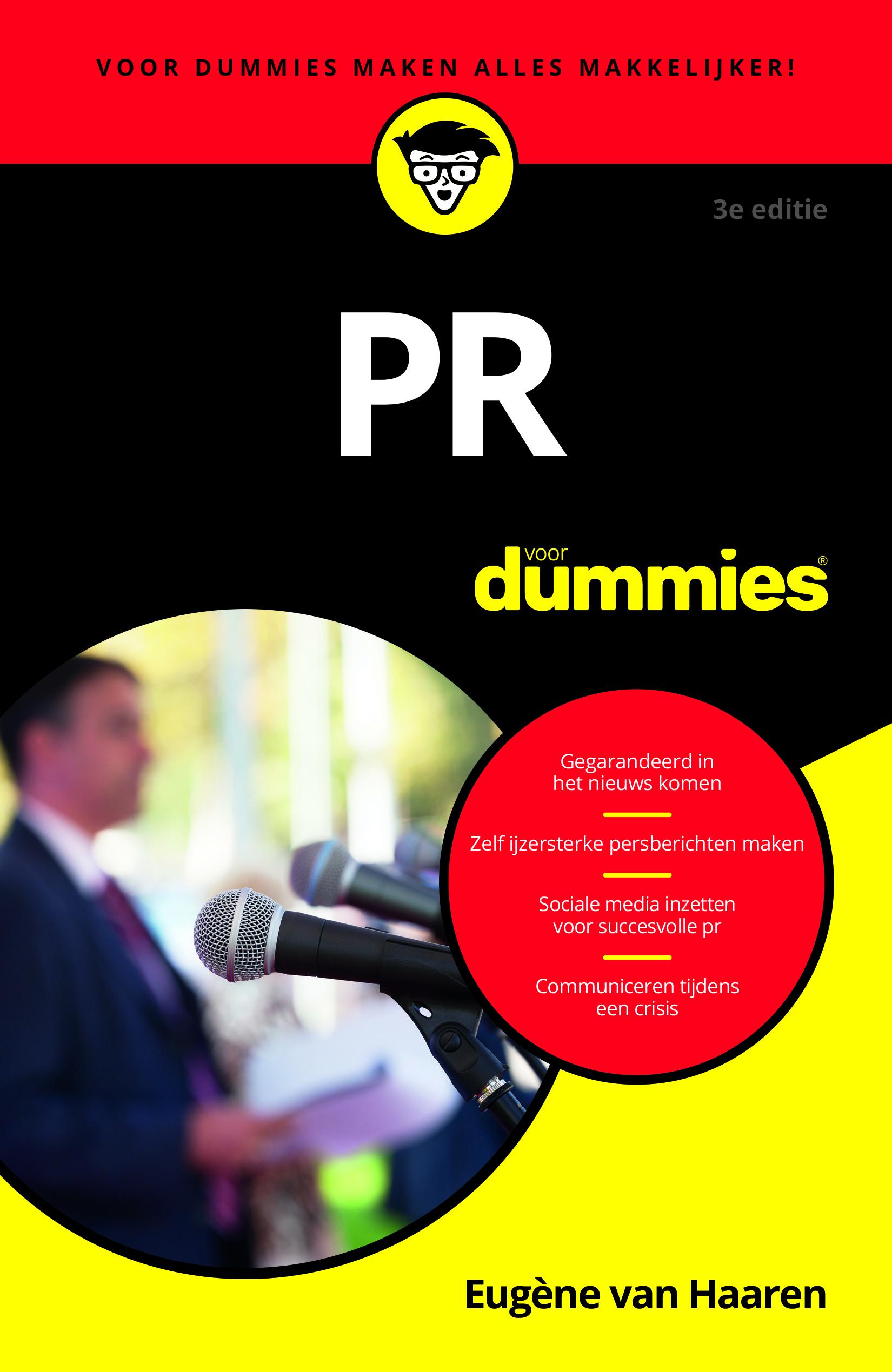 PR voor Dummies 3e editie Eugène van Haaren www.voornieuws.nl