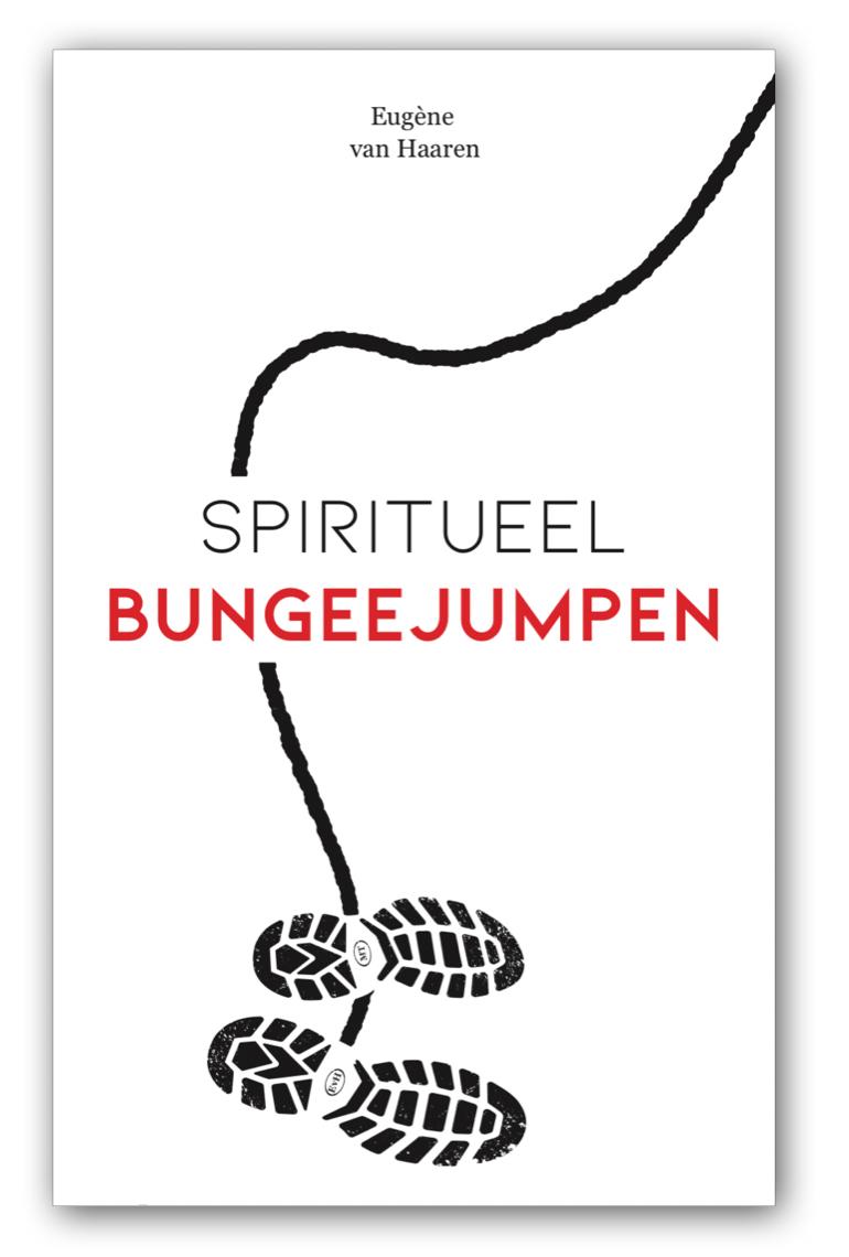 Omslag Spiritueel bungeejumpen door Eugène van Haaren